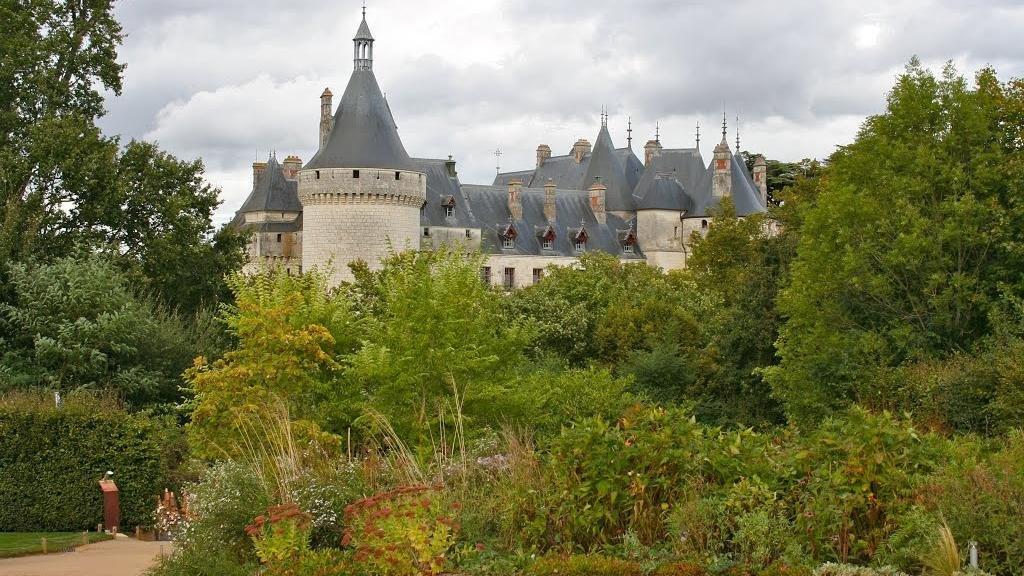 Le château de Chaumont/Loire et ses jardins