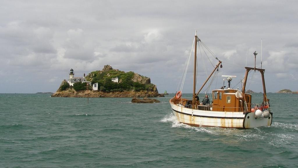 L'île Louet et son gîte