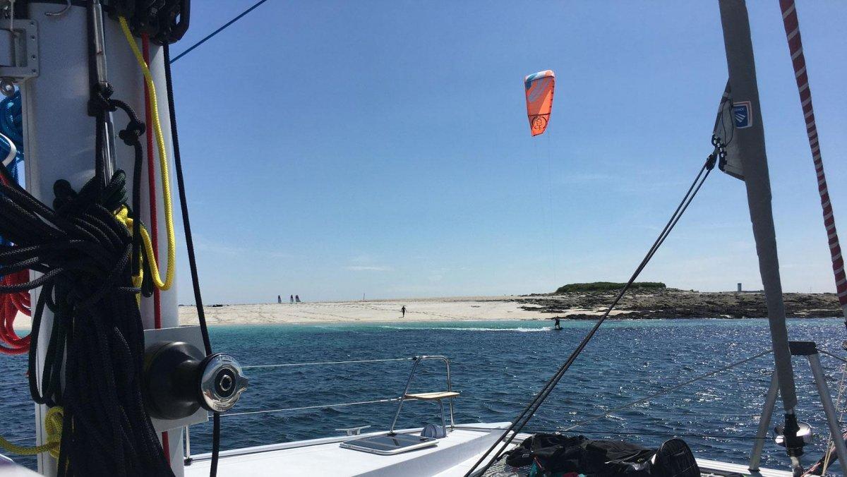 Kite aux glénan