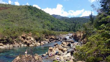 La superbe Rivière Bleue, baignade 4 étoiles ! - swimming spots New Caledonia