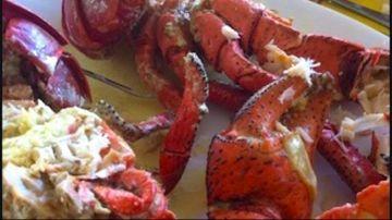 Repas crabe de cocotier