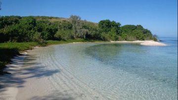 Camping sur l'îlot Petit Mato - Mont Dore