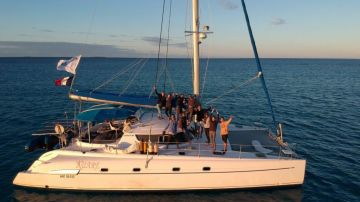Croisière baleine sur KUARE  : 10 personnes + skipper