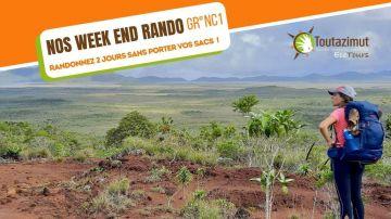 Week end randonnée GR©NC1 - Etapes 2 et 3