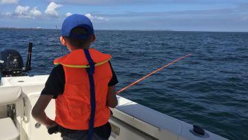 Partie de pêche au large