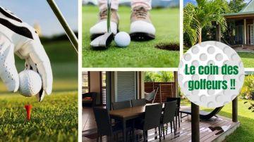 Bungalow golfeur