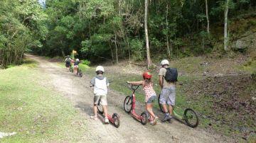 Grandes Fougères : Location de Footbikes et Vélos Electriques