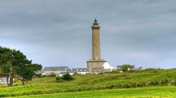 Le phare trône sur l'île de Batz
