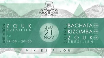 SOIREE 2 BK ZOUK Public House
